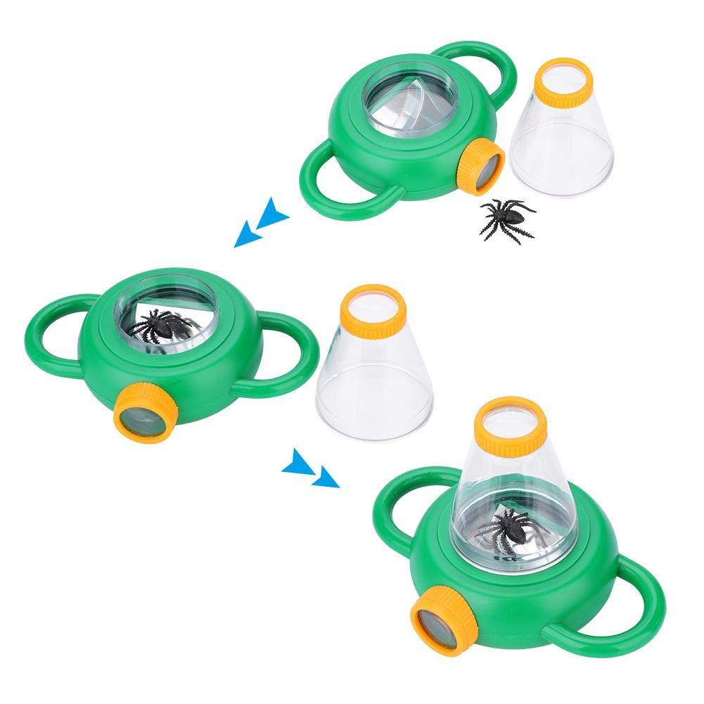 Juguete Educativo VGEBY1 Visor de observaciones de Insectos Visor de Insectos port/átil con Lupa 4X para ni/ños Exploraci/ón al Aire Libre