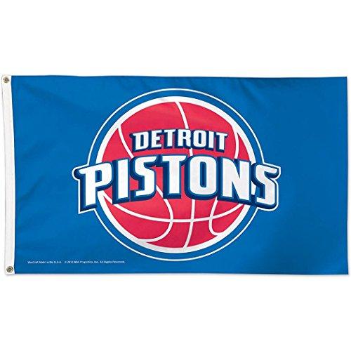 NBA Detroit Pistons Deluxe Flag, 3' x 5'