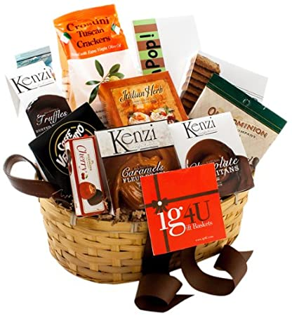 Image Unavailable Not Available For Color Ig4U Happy Gourmet Birthday Gift Basket
