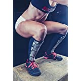 Rocktape Shin Guard Sleeves, 2 Pack, Protection & Compression, Breathable, Dry Quickly When Wet, RockGuards