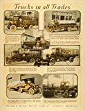 1920 Ad Federal Motor Truck Co Detroit A Muxen Co R. Jebb Stock Buyer Tractor - Original Print Ad