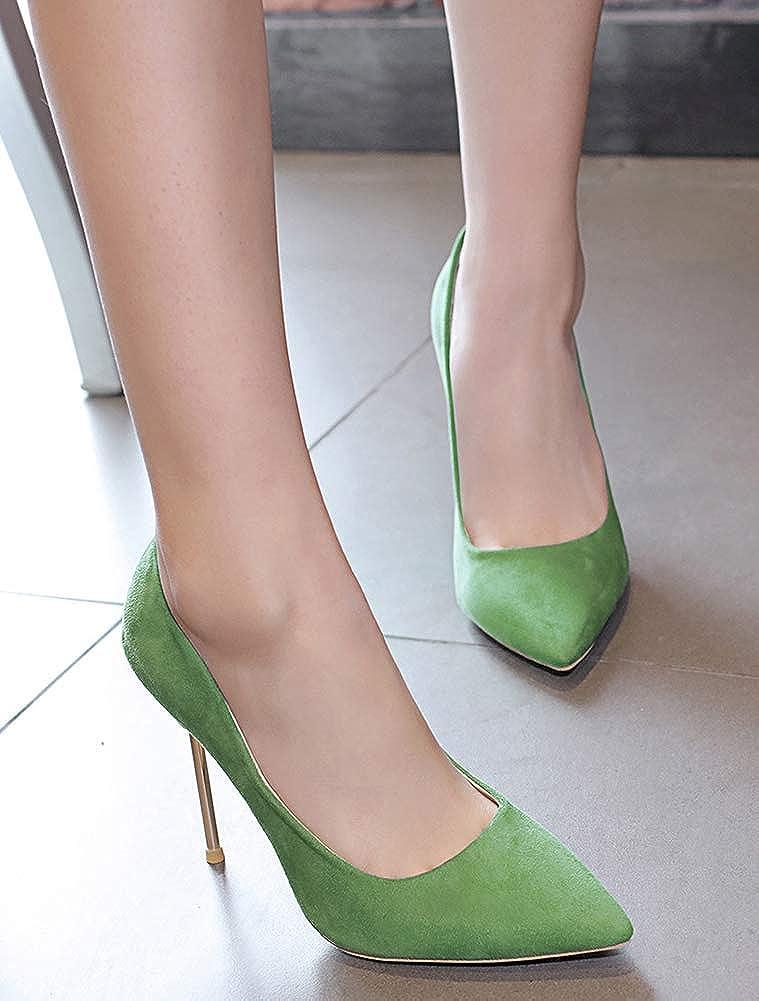 ff3a61977466a7 Aisun Femme Stylé Fermeture à Enfiler Cadeau Bout Pointu Escarpin:  Amazon.fr: Chaussures et Sacs