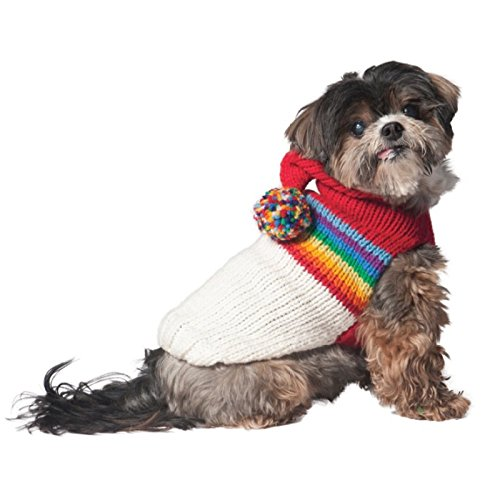 Chilly Dog Vintage Ski Hoodie for Dogs, Small