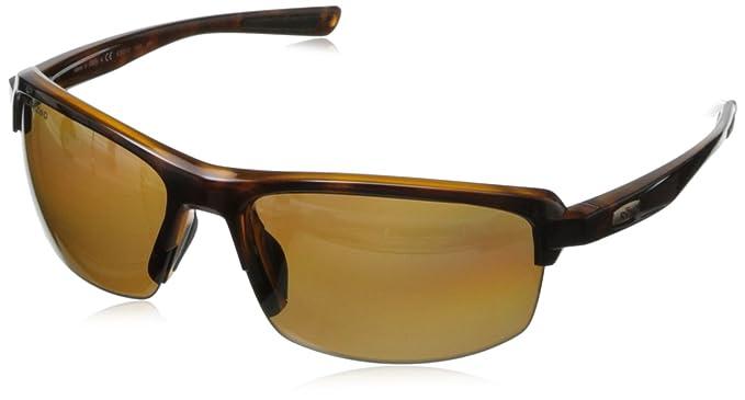 Revo Crux S RE 4067 01 - Gafas de sol polarizadas rectangulares, Marrón (Tortoise
