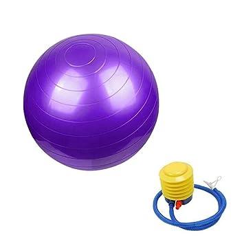 Weiyonghe Pelota de Yoga Fitness PVC Anti-Burst Yoga Ejercicio ...