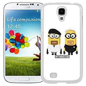 Mythbusters Minions (2) Durable High Quality Samsung Galaxy S4 I9500 Case
