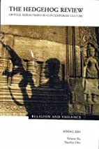 Religion and Violence by James Davison…