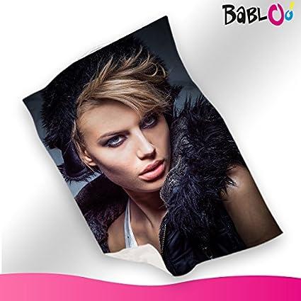Pile Con Foto Personalizzata.Babloo Cpfs150 Coperta Personalizzata In Pile Plaid 150x100 Con Foto Singola