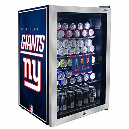 Compact NFL Inspired Select Your Team Refrigerated 4.59CuFt Beverage Center - by Glaros