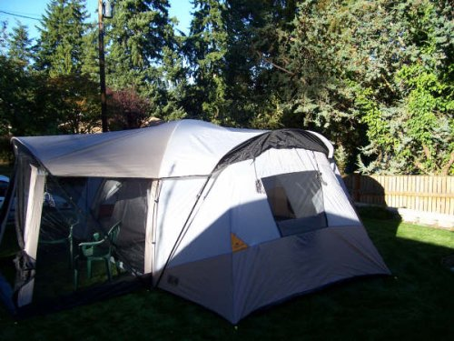Amazon.com  Ridgeway by Kelty Sonoma Cabin Dome Tent with 4 Rooms and Screen Porch  Family Tents  Sports u0026 Outdoors & Amazon.com : Ridgeway by Kelty Sonoma Cabin Dome Tent with 4 Rooms ...