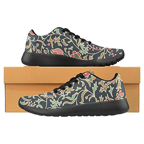 Interestprint Mujeres Jogging Running Sneaker Ligero Go Easy Walking Casual Comfort Deportes Zapatillas De Running Multi 26