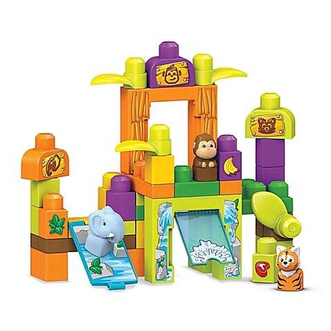 【着後レビューで 送料無料】 Mega Bloks Build Buddies And Learn Zoo Of With Kids Storytelling Safari Friends Zoo Building Set, Set Of 59-Pieces, Includes Rolling Car And 4 Block Buddies B0762RFZ8F, セイワソン:c5b2d0b7 --- a0267596.xsph.ru