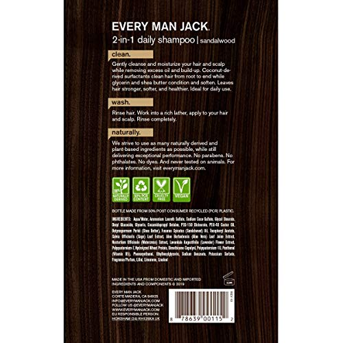 Buy natural shampoo and conditioner for men