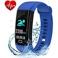Fitness Tracker, Smart Watch with Color Screen, Activity...