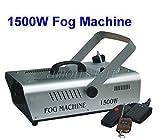 Fog Machine 1500W Stage Fogger Fog Smoke Machine with DMX for Disco (Remote Controller)