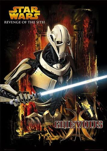 Star Wars General Grievous Poster Amazon Co Uk Kitchen Home