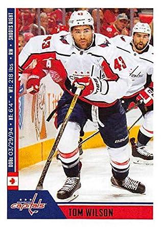 2018-19 Panini NHL Stickers  265 Tom Wilson Washington Capitals NHL Hockey  Trading Sticker b63783633f6