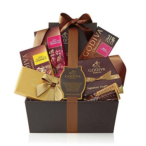 Godiva Chocolatier Pure Bliss Chocolate Gift Basket