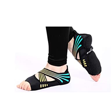 SHRYJW Calcetines Antideslizantes Para Yoga Pilates Barra ...