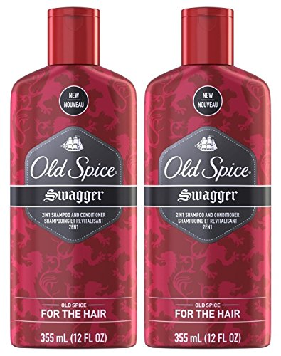 Old Spice Swagger 2 in 1 Shampoo and