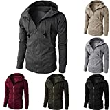 Tootu Mens' Autumn Winter Long Sleeve Sport Zipper Hoodie...
