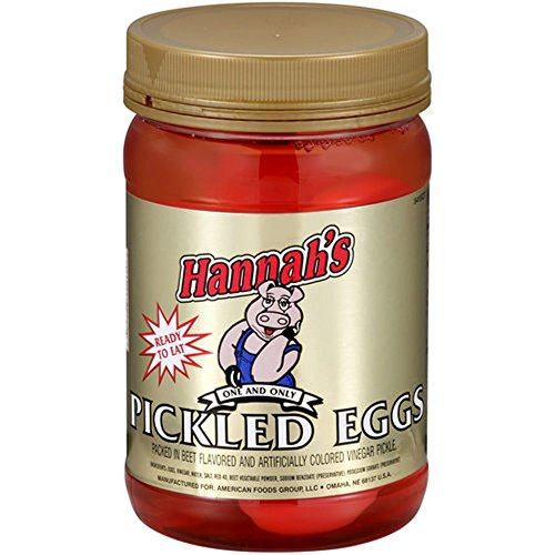Hannah's Ready To Eat Pickled Eggs Quart (Pickled Eggs)
