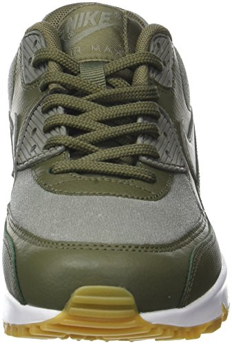 Max WMNS 39 Medium Olive Prem 90 NIKE Dark Sequo Chaussures Vert de EU Air Stucco 205 Femme Noir Gymnastique w4fqnBH