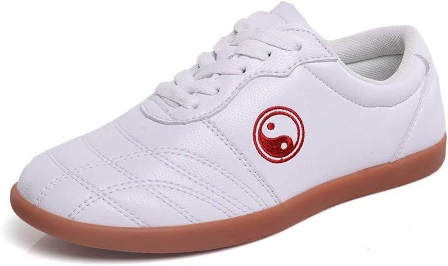 WZYEU Zapatos De Artes Marciales Kung Fu Tai Chi,Zapatos De Karate,Zapatos Transpirables De Taekwondo,Apto para Entrenamiento DiarioRed-36