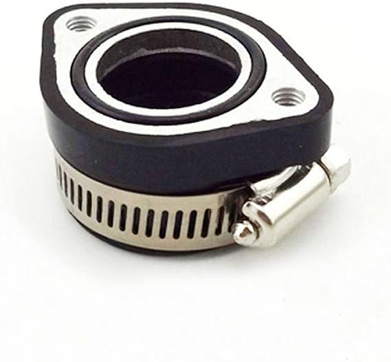 Stoneder Intake Mainfold Adapter Boot Rubber Pipe Flansch Für Mikuni Vm24 Keihin Pe24 Pe26 Pe28 Oko Vergaser Pit Dirt Bike Auto