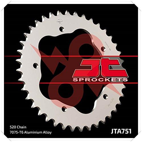 JT Sprockets Rear Sprocket 40T 520 Alloy for Ducati 94-09 (Rear 2004 Sprocket Monster)