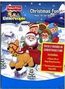 Little People Christmas Fun Music Cd And Dvd Set