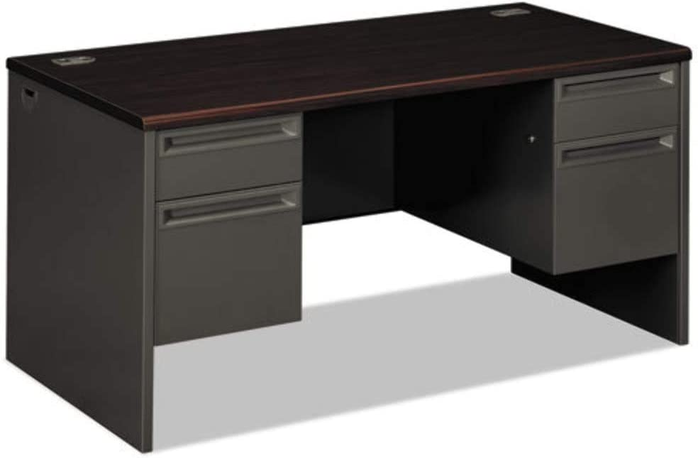 Amazon Com Hon38155ns Hon 38000 Series Double Pedestal Desk Office Products