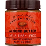 : Barney Butter Almond Butter - Vanilla Bean and Espresso - 10 oz - case of 6 - Gluten Free - Vegan by Barney Butter