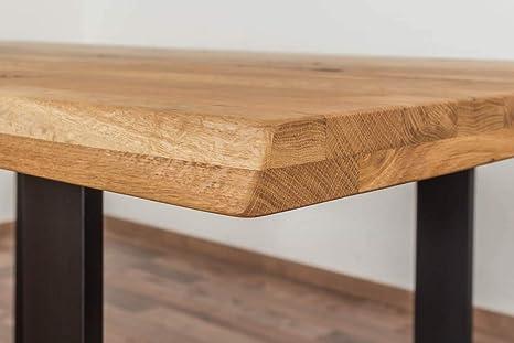 Esstisch Wooden Nature 413 Eiche massiv geölt, Tischplatte