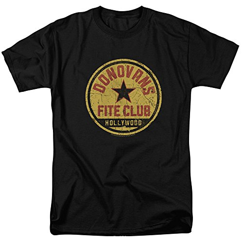 Fite Club Distressed Logo -- Ray Donovan Adult T-Shirt, X-Large