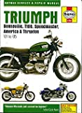 Triumph Bonneville, T110, Speedmaster, America & Thruxton Service & Repair Manual: 2000 to 2005 (Hay