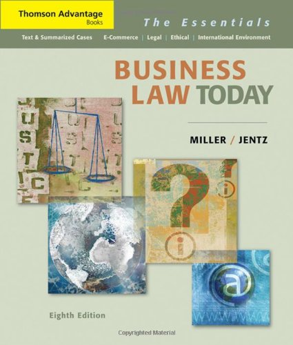 Business Law Today: The Essentials