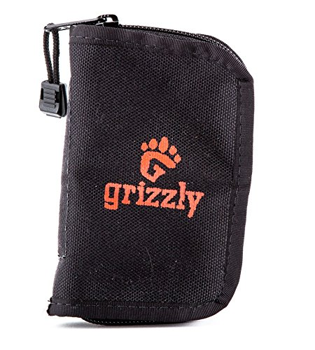 Grizzlies Card - Grizzly KATMAI Photography, Video and Camera Utility Pouch for Memory Card, Battery and USB Wallet to Hold SD Memory, CF Memory, AA and AAA Batteries, Camera Battery Packs and USB Drives. Heavy Stitching, Tough, Reliable.