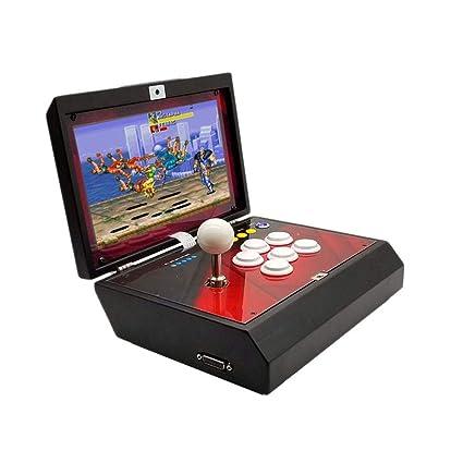 Mini máquina de juegos Arcade, plegable portátil Moonlight Box 6S Juego de arcade casero Juego
