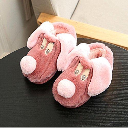 Cartoon Hausschuhe Rot Huhu833 Schuhe Schafe Indoor Kinder Wassermelone Kinder Winter Warme Tiere Baumwolle Jungen Mädchen 6gXEqwXx