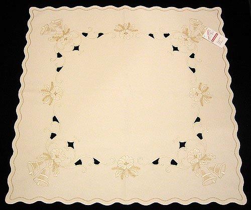 Funke Christmas Golden Bells Tablecloth 87 Germany