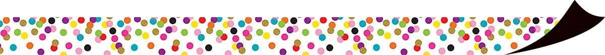 Teacher Created Resources Confetti Magnetic Border (TCR77149)