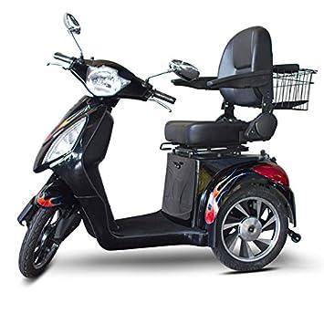 Amazon.com: e-wheels el Dude negro con llamas Custom ...