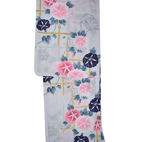 和道楽着物屋 【綿絽】大人の浴衣【華かづら】 レディース浴衣 番号c608-46 上品 綺麗 ユカタ yukata レディース 着物 和装