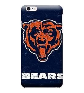 iPhone 6 Plus Case, NFL - Chicago Bears - Alternate Distressed - iPhone 6 Plus Case - High Quality PC Case