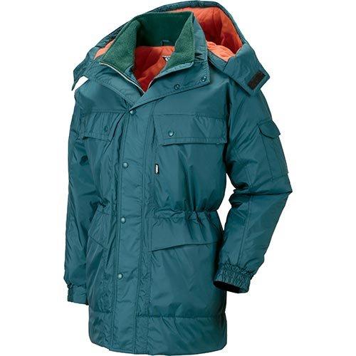 ジーベック 防寒コート 大きいサイズ 60/グリーン 3Lサイズ 481 B01MSTKXTI