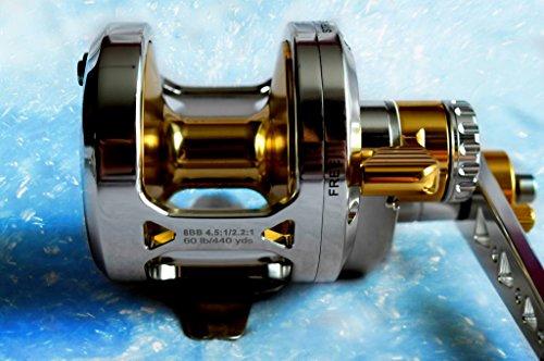OKIAYA AXIS-L16 2 Speed Dual Drag Big Game Reel