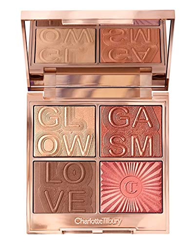 Charlotte Tilbury Glowgasm Face Palette (4 x 3.8g) Lovegasm B07S1S5TRF