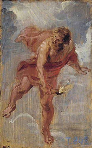 Oil Painting 'Rubens Peter Paul Promethius Ca. 1636', 16 x 26 inch / 41 x 65 cm , on High Definition HD canvas prints is for Gifts And Gym, Kids Room And Kitchen Decoration, customart