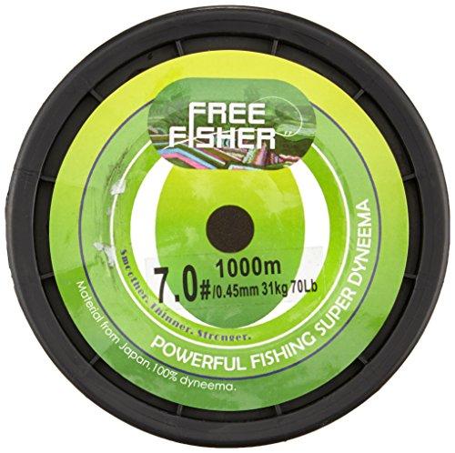 Free Fisher hilo trenzado de pesca Verde - verde